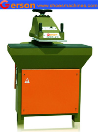 cutting press with rotating arm