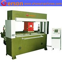 Adhesive sanding disc cutting machine