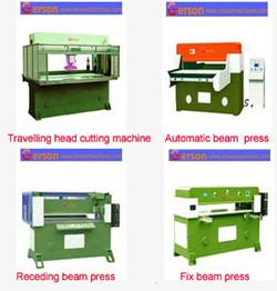 Four-column hydraulic cutting press