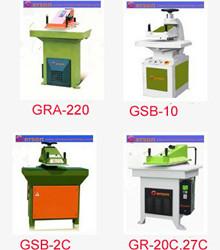 Hydraulic press swing arm cutting machine