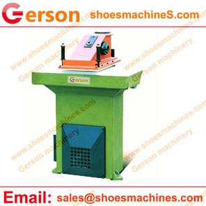 Hydraulic die cutting machine with swing beam manufacturer
