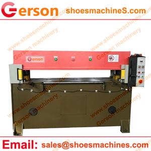 Cotton short oversleeve hydraulic Four Column Cutting Machine