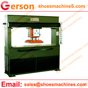 Leather Pieces Cutting Machine With Swing Arm
