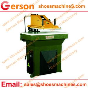 Swing beam cutting machine